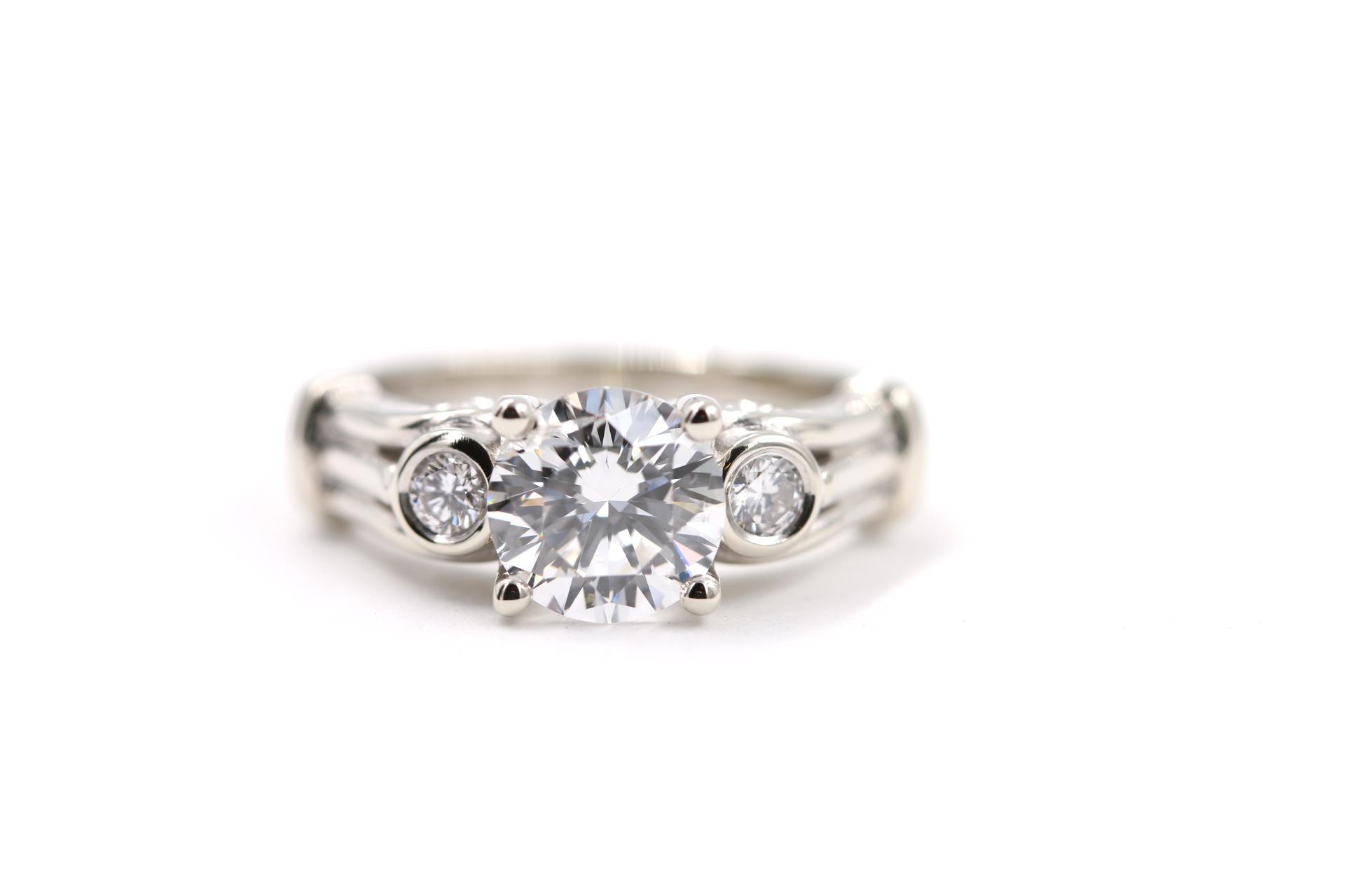 three-stone-setting-custom-engagement-ring-orange-county-diamond