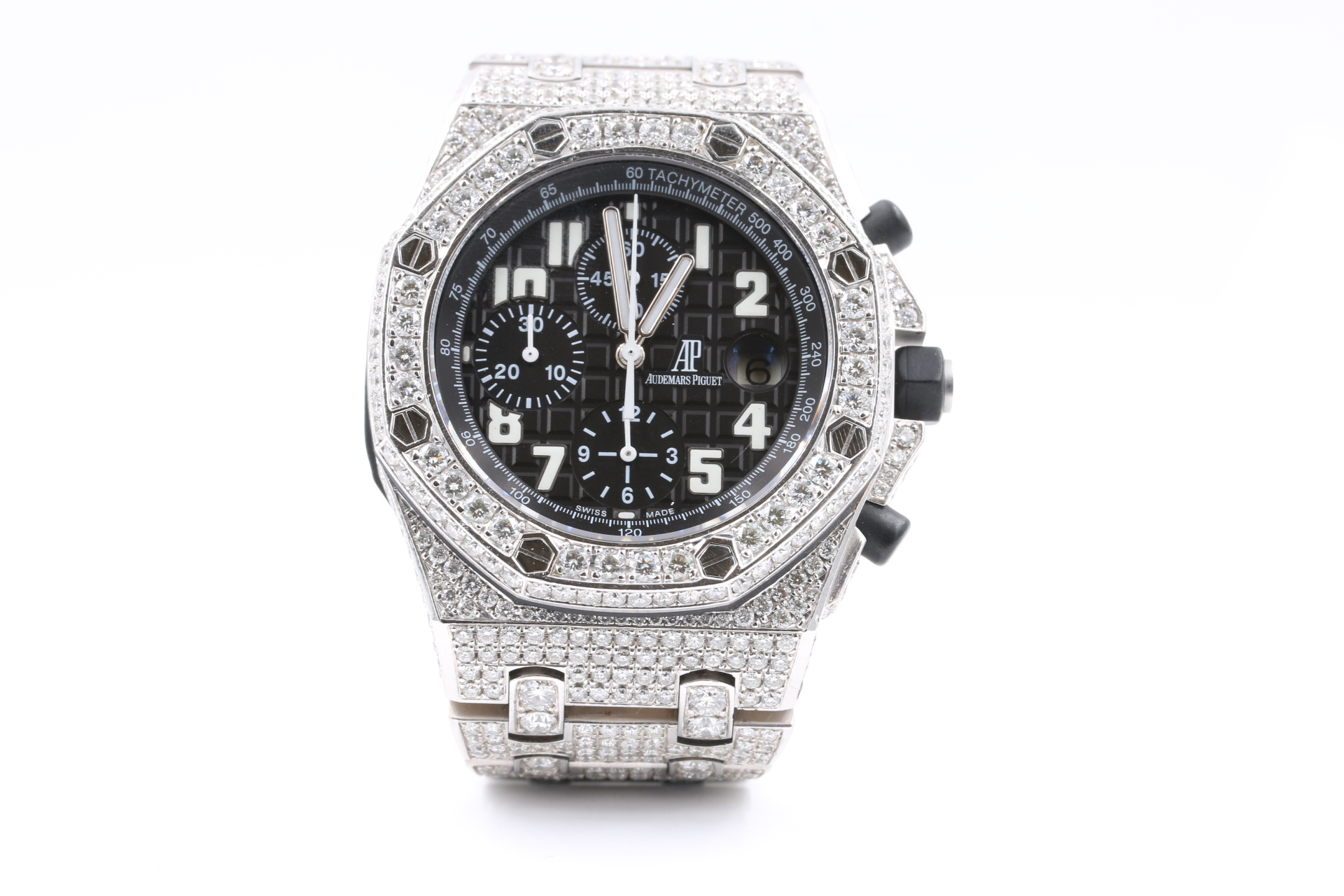Audemars Piguet chronograph diamonds luxury watches orange county