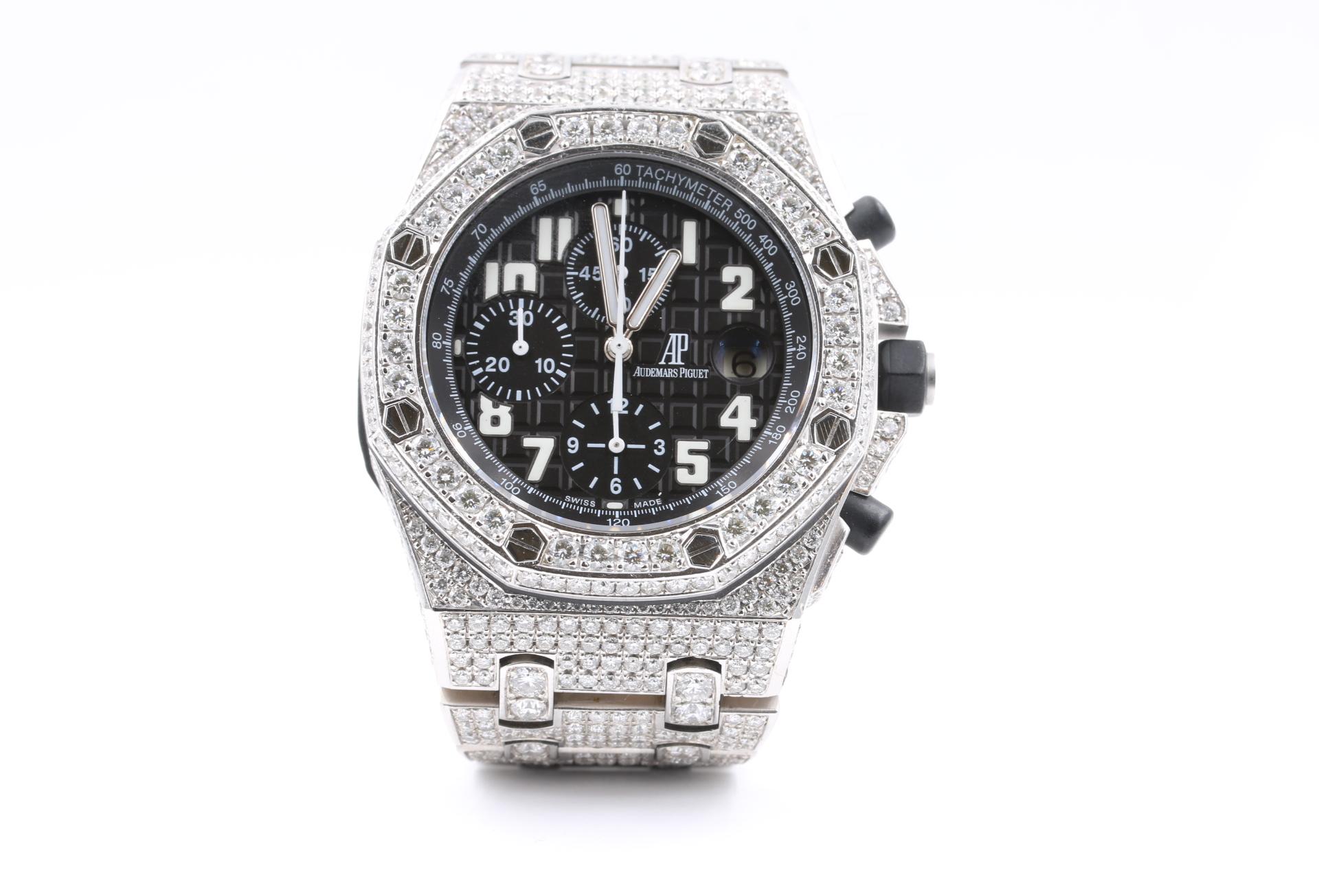 Audemars Piguet chronograph diamonds luxury watches orange county