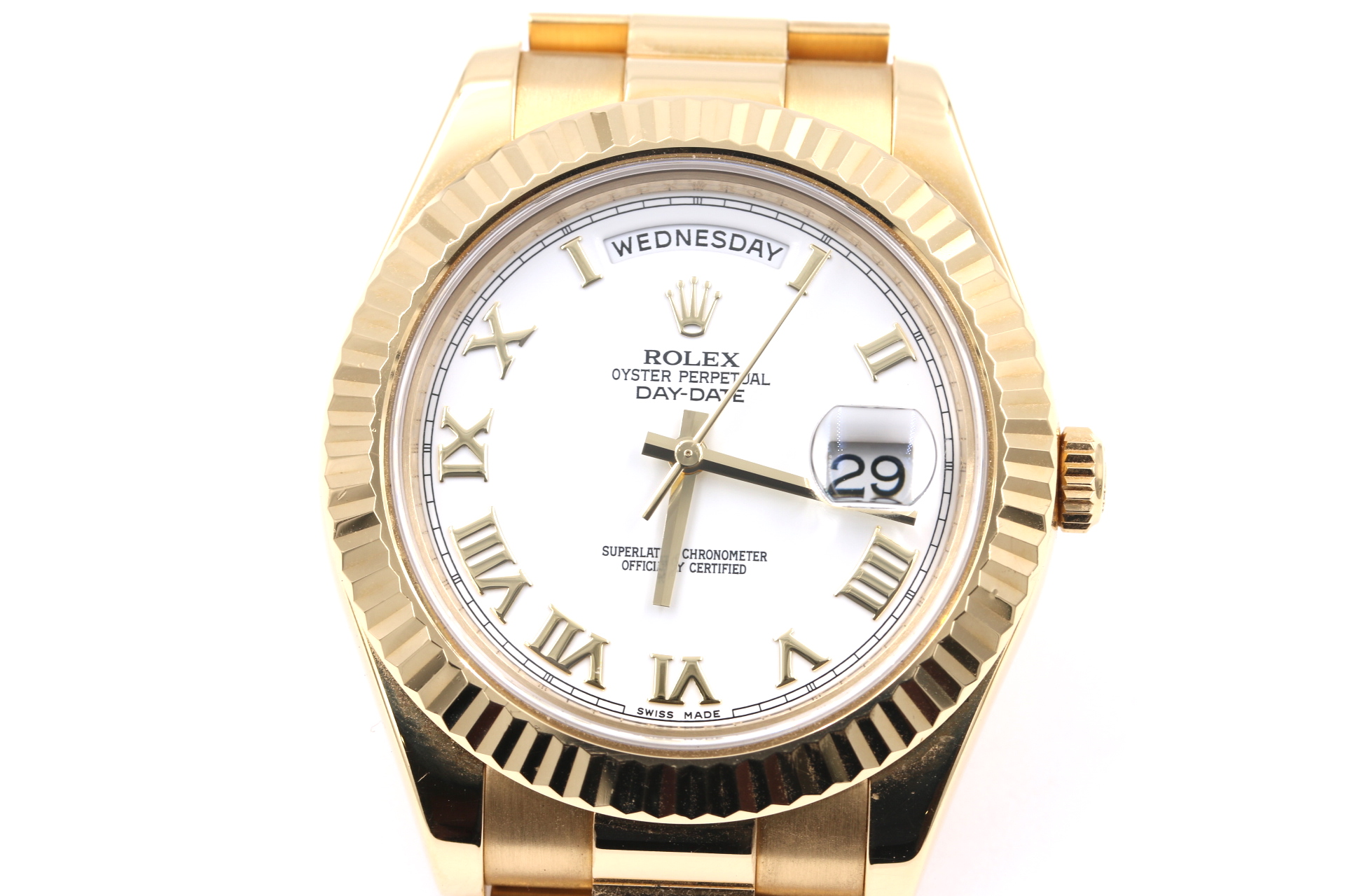 rolex watch broker orange county jeweler front face