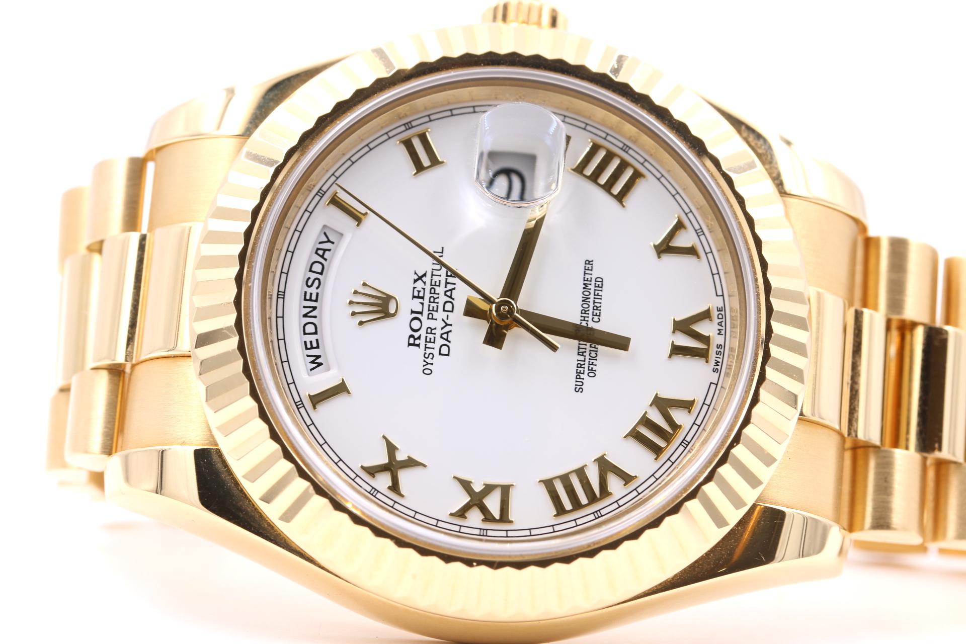 rolex watch broker orange county jeweler on side gold