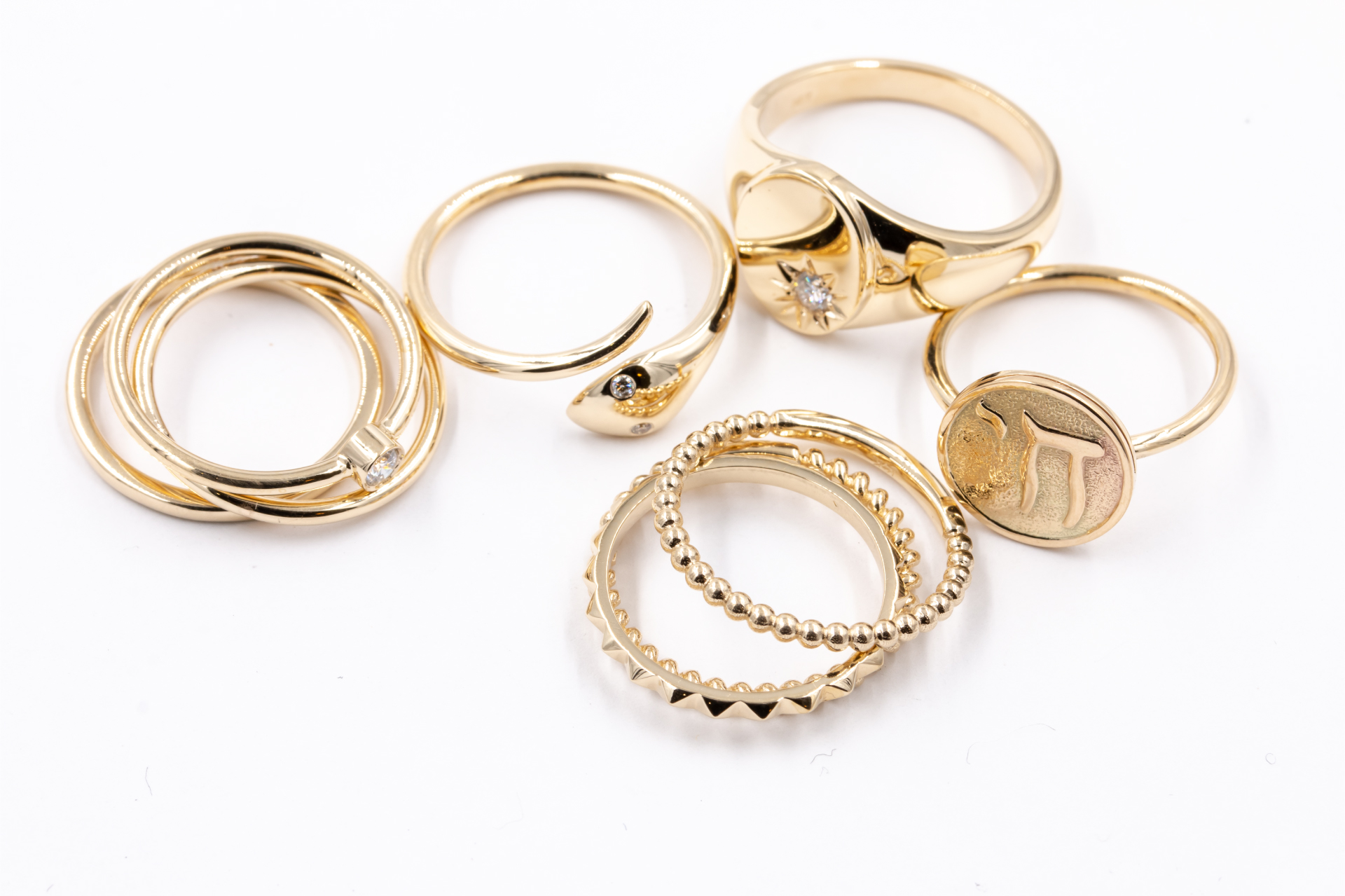 stacking-rings-gold-diamonds-custom-fashion-jewelry-for-sale